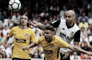 Valencia CF – Atlético de Madrid: puntuaciones del Valencia, jornada 3 de La Liga