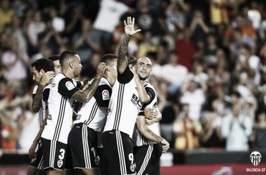Valencia CF - UD Las Palmas: puntuaciones del Valencia, jornada 1 de La Liga