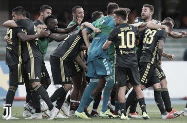 Bernardeschi decretou a virada para a Juventus nos acréscimos (Foto: Divulgação/Juventus F.C)