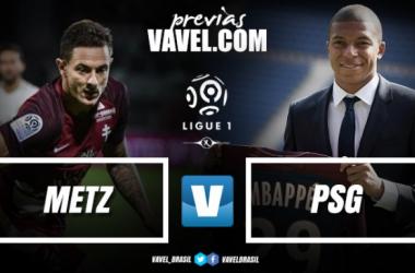 Em provável estreia de Mbappé, PSG visita Metz para manter liderança da Ligue 1