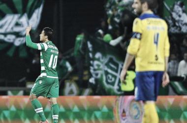 Leão regressa ao campeonato em busca da vitória (foto: maisfutebol.iol.pt)