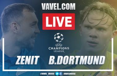 Gols e melhores momentos de Zenit 1 x 2 Borussia Dortmund pela Champions League