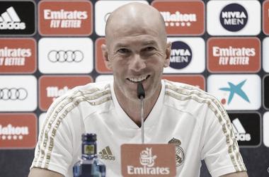 """Zidane comemora vitória do Real Madrid sobre Mallorca: """"Não é fácil o que o time vem fazendo"""""""