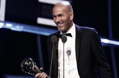 Zinedine Zidane ganó el premio The Best la temporada pasada y espera repetir este año | Fuente: FIFA.