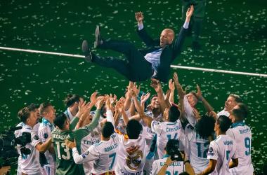 Gli 878 giorni di Zizou | www.twitter.com (@ChampionsLeague)