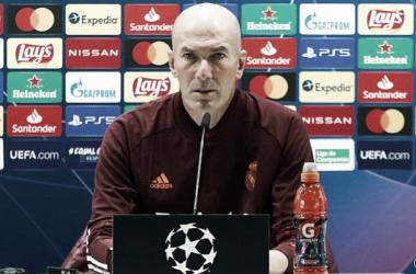 Zinedine Zidane: «Queremos la Champions, este equipo siempre ha demostrado que es bueno en momentos complicados»