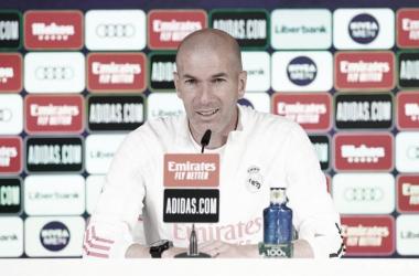 Zidane sembró dudas sobre su continuidad | Foto: Real Madrid