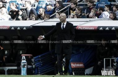 """Zidane: """"Lo mejor es que no hemos bajado los brazos"""""""