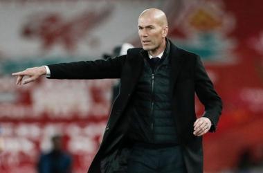 Zidane en rueda de prensa | Foto: Real Madrid