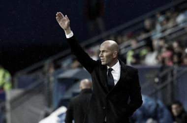 """Zinedine Zidane: """"Estoy orgulloso del trabajo de mis jugadores"""""""