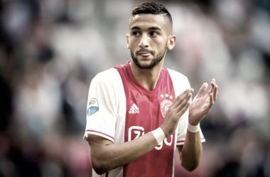 Hakim Ziyech, la batuta del Ajax