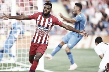 El Atleti gana a los puntos al Huesca