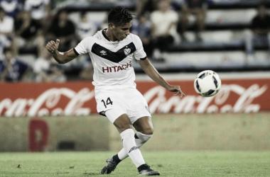 Pérez Acuña se destacó en Vélez (Foto: Web).