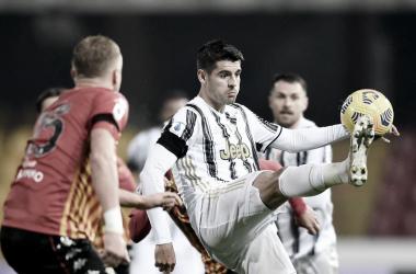 Sem Cristiano Ronaldo, Juventus cede empate ao Benevento e perde chance de encostar na liderança
