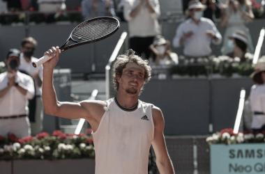 Sascha va en busca de su segundo título en Madrid. Foto: ATP
