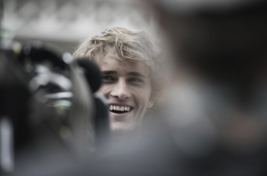 Zverev, en el Media Day en París. Foto: Roland Garros