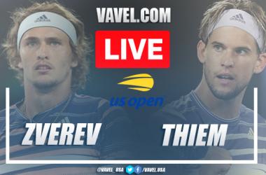 US Open: Alexander Zverev vs Dominic Thiem