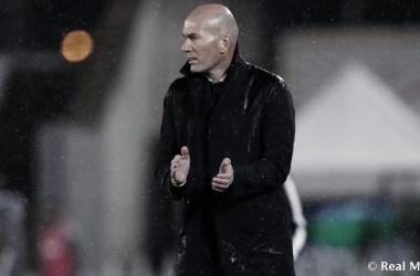 """Zidane: """"Aún quedan cinco partidos deliga, falta mucho"""""""