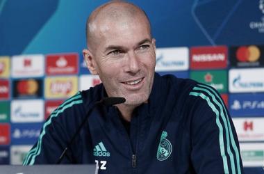 """Zidane: """"Corazón, cabeza, pero sobre todo fútbol"""""""
