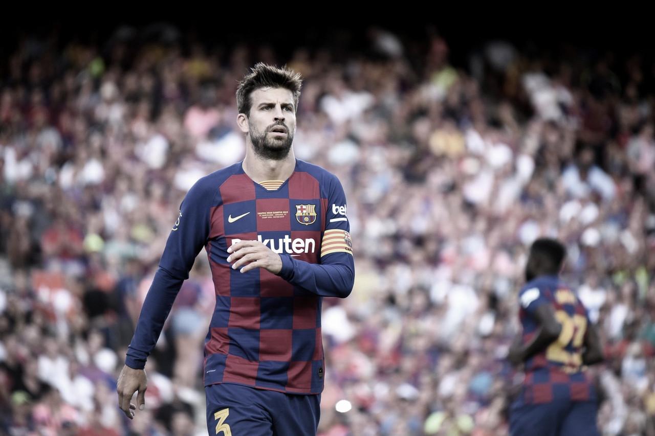 """Piqué: """"No dependemos de nosotros para ganar la liga"""""""