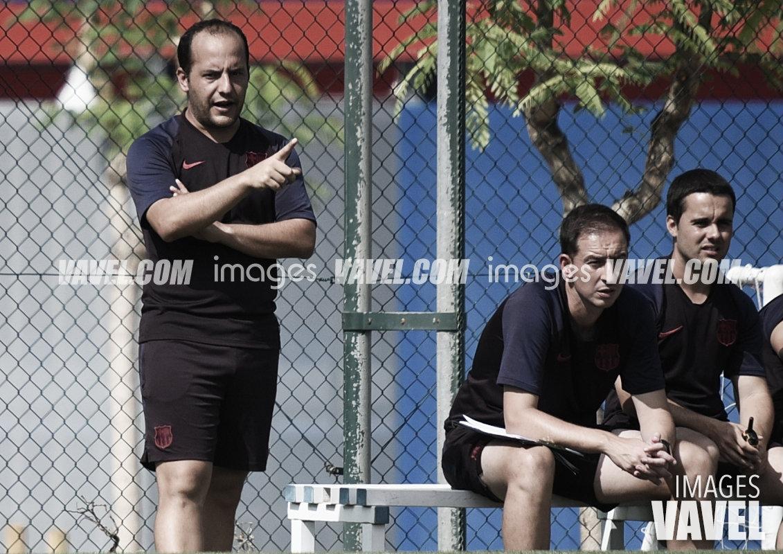 """Lluís Cortés: """"El equipo está preparado"""""""