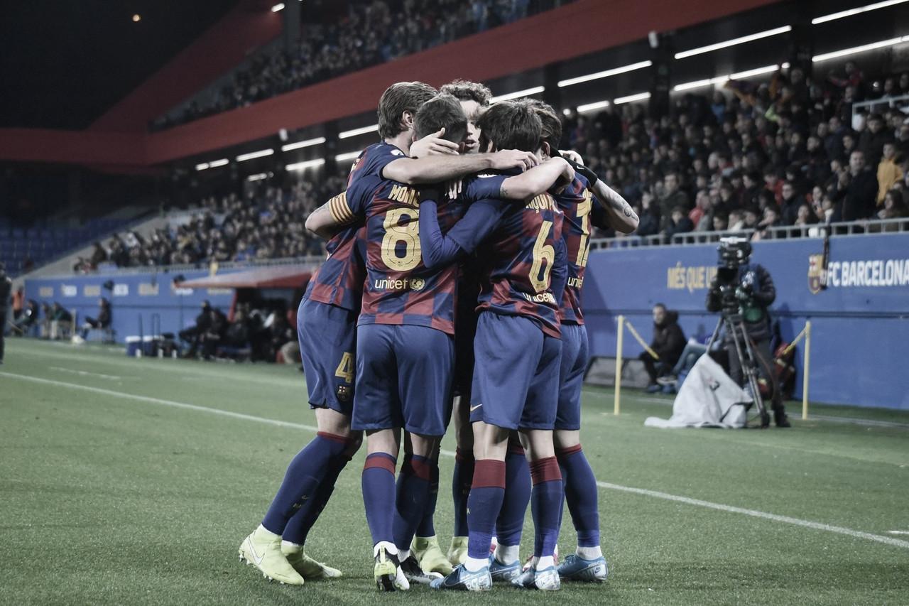 El FC Barcelona B se multiplica en el Johan Cruyff