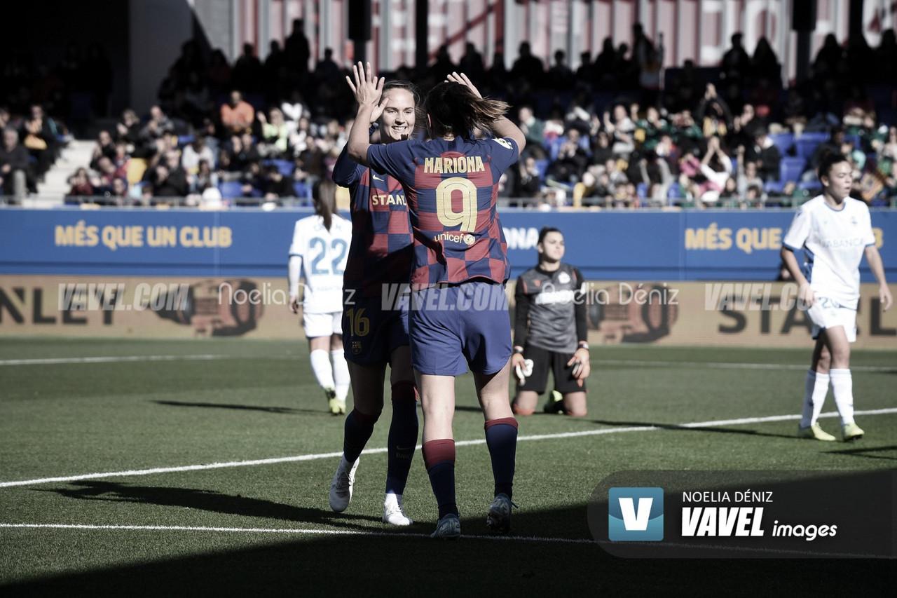 Resumen del FC Barcelona vs Deportivo Abanca en cuartos de final Copa de la Reina 2020