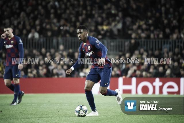 Junior Firpo, baja contra el Villareal