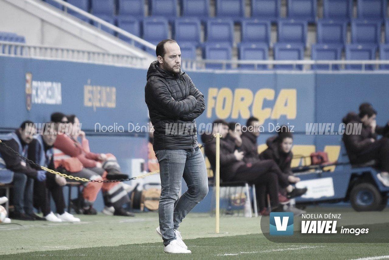 """Lluís Cortés: """"Estamos orgullosos de las 24 jugadoras"""""""