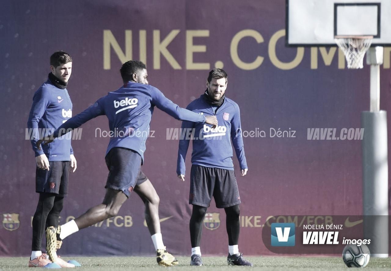 Convocatoria del Barça para medirse al Atleti