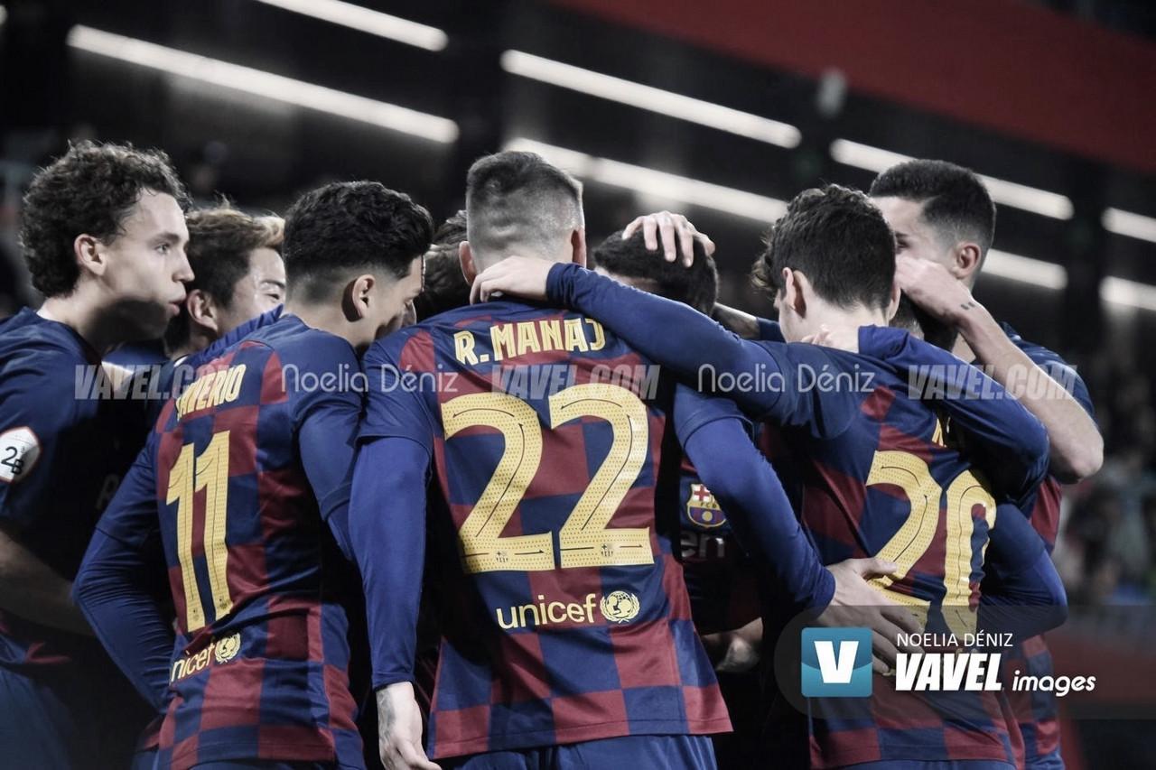 Resumen FC Barcelona B vs Badajoz Playoffs 2020 (1-1)