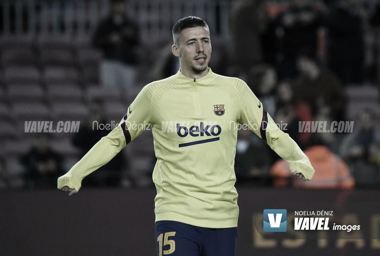 Lenglet, baja en el entrenamiento del FC Barcelona
