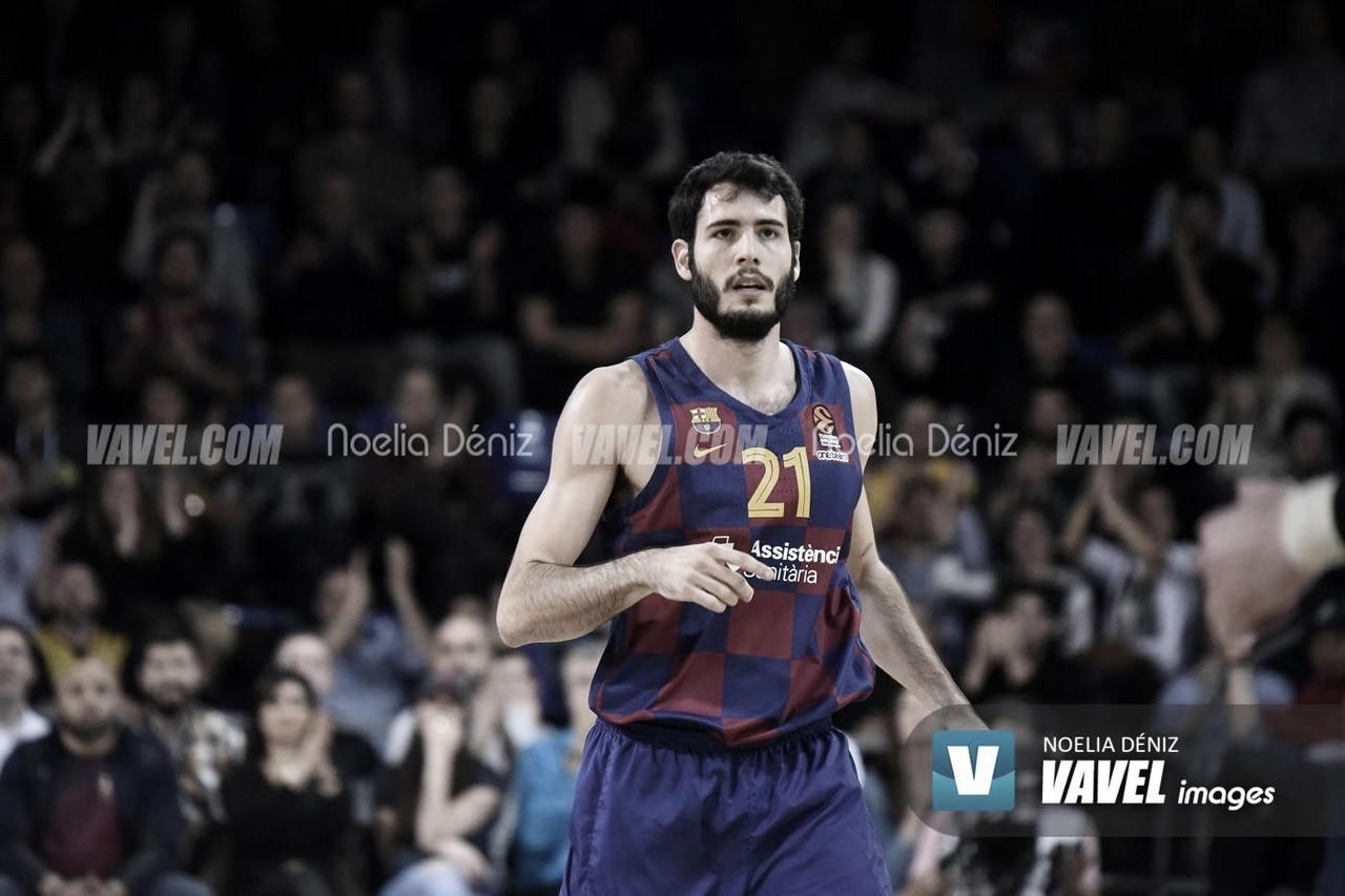 """Álex Abrines, tras la victoria ante Bilbao Basket: """"Hemos hecho un partido muy serio"""""""