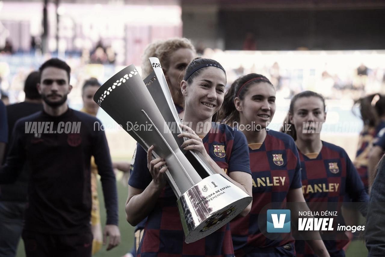 """Vicky Losada: """"Este club me ha enseñado a ser futbolista y persona"""""""