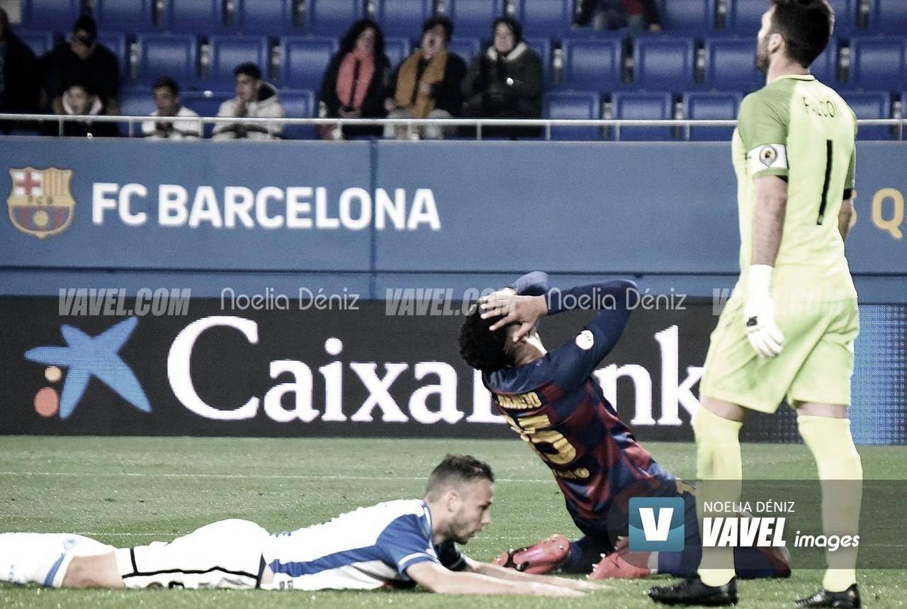 Araújo sufre un esguince en su tobillo derecho
