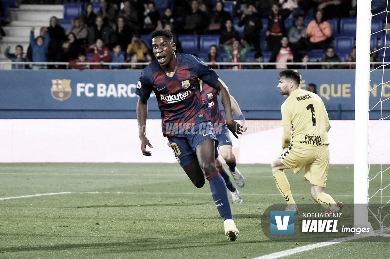 El debut de Ilaix Moriba en Liga