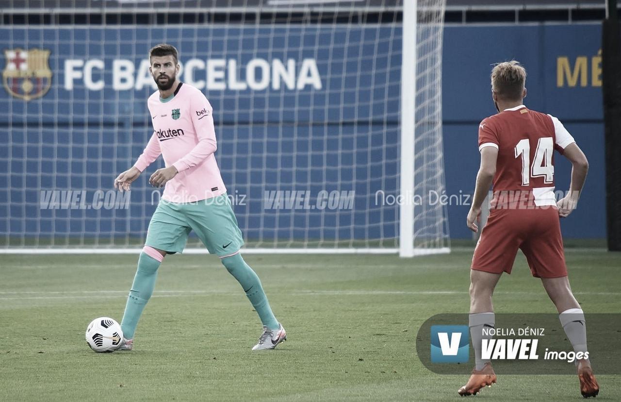 "Piqué: ""Veo a Messi feliz"""