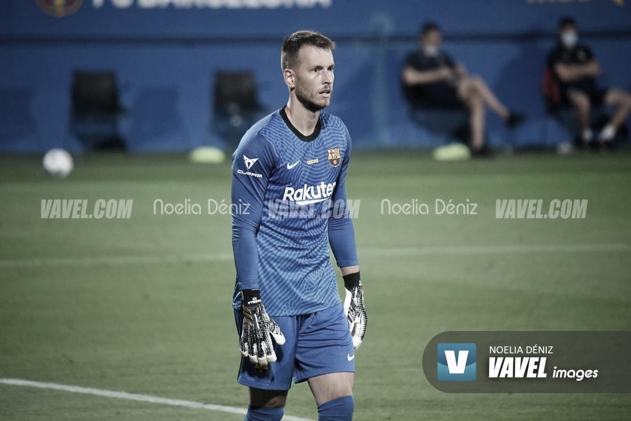 Neto Murara esta pretemporada con el Barça. Foto: Noelia Déniz, VAVEL