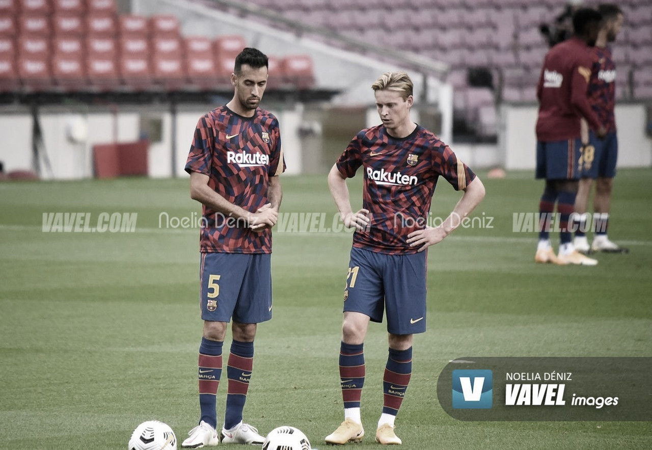 Entreno y convocatoria del FC Barcelona vs. Osasuna
