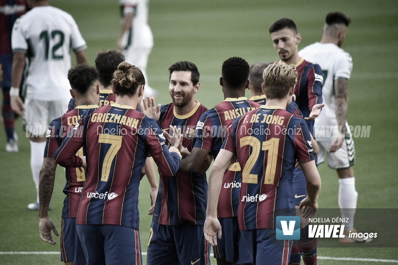 Entreno y convocatoria del FC Barcelona ante el Betis