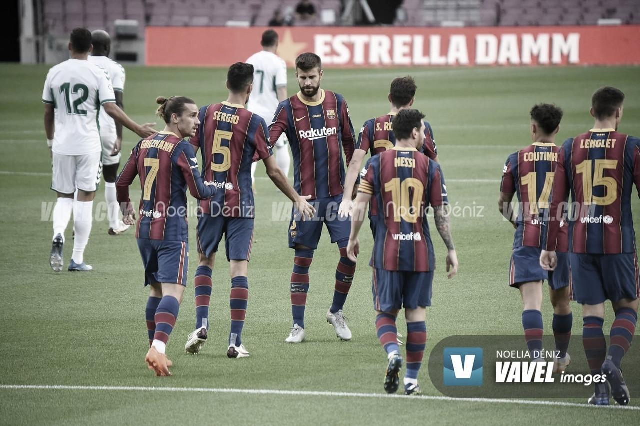 Entreno y convocatoria del FC Barcelona vs Cádiz