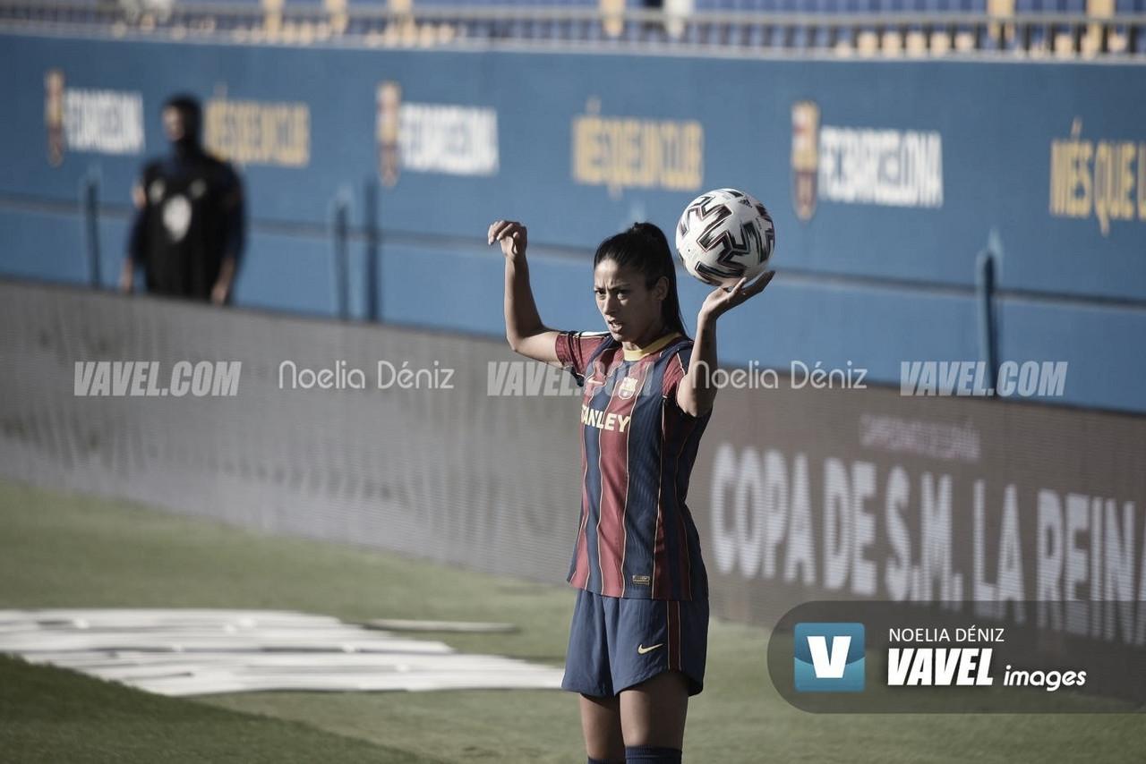 Las jugadoras del Barça claves en el 10-0 de España a Moldavia