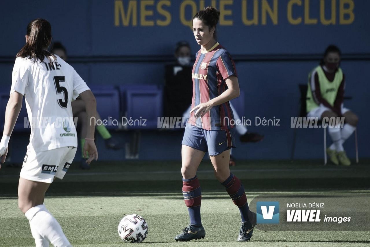 """Marta Torrejón: """"Dejamos toda la emoción para el partido de vuelta"""""""