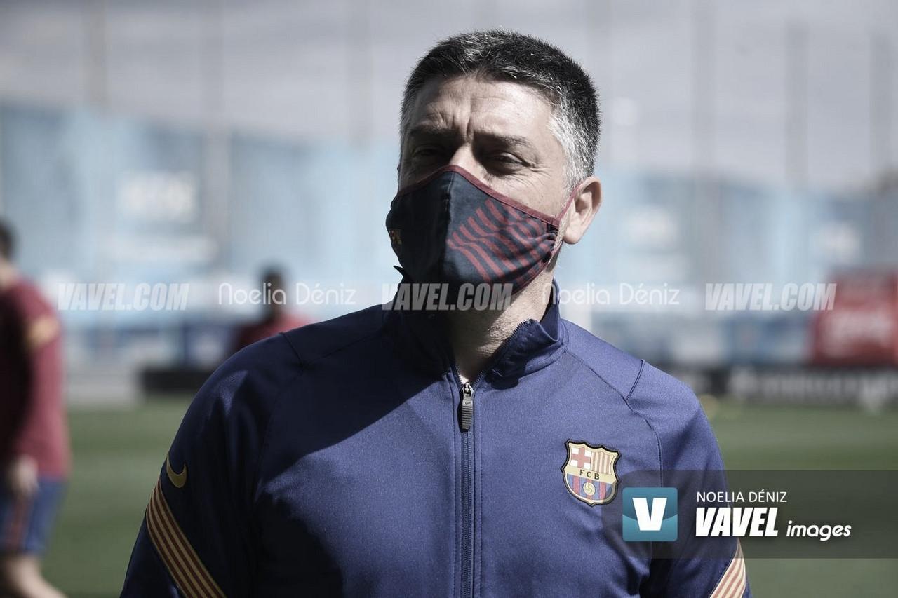 """García Pimienta: """"El compromiso que tienen estos jugadores es muy grande"""""""