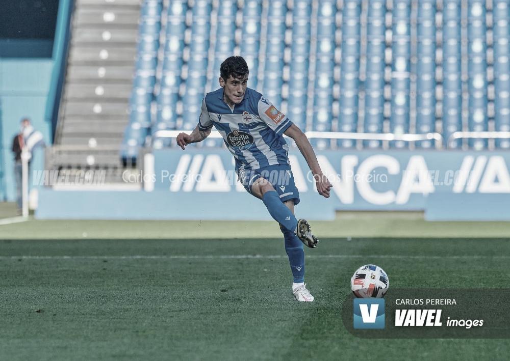 """Diego Villares: """"Jugar al lado de Bergantiños es un placer.Alos jóvenes nos ayuda mucho"""""""