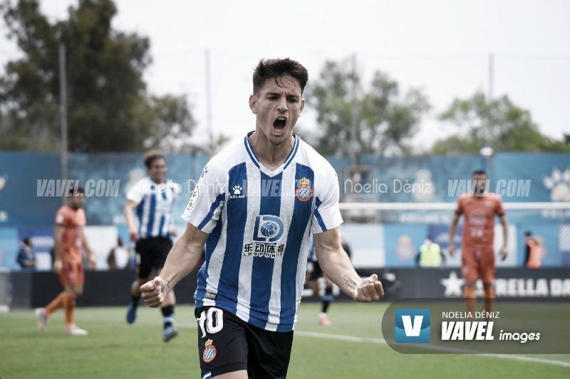 Iván Gil, una pieza clave del Espanyol B