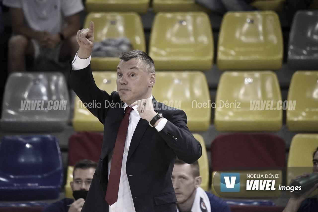 """Jasikevicius: """"Ante el Madrid hemos de ser duros mental y físicamente"""""""