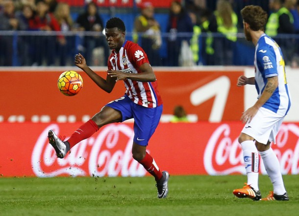 Thomas debuta con el Atlético