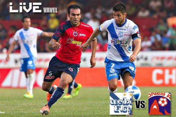 Resultado Puebla - Veracruz en Liga MX 2014 (0-0)
