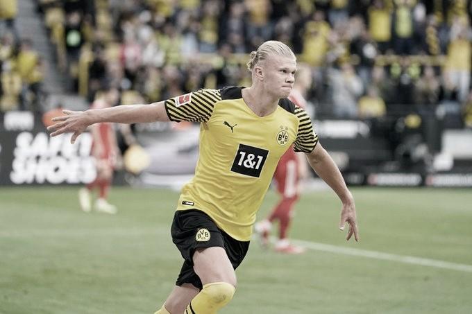 Haaland marca duas vezes, e Borussia Dortmund derrota Union Berlin